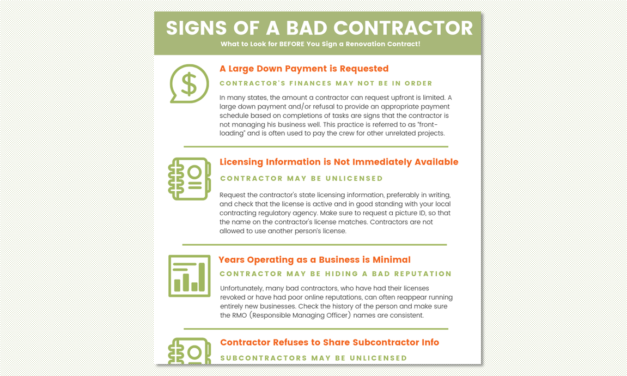 Signs of a Bad Contractor Before You Sign a Contract