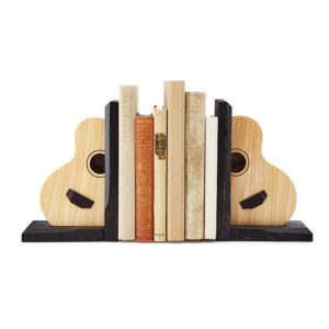 acoustic guitar bookends uncommongoods
