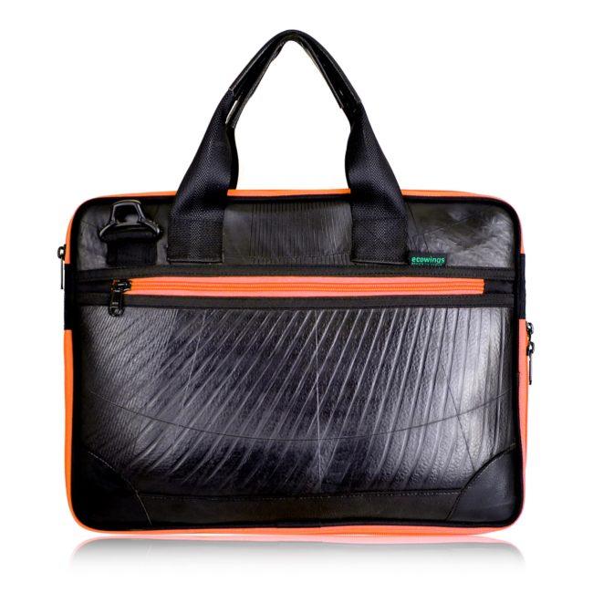 Ecowings Rubber Bag Pan Front Orange