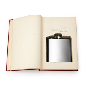 hidden flask book uncommongoods