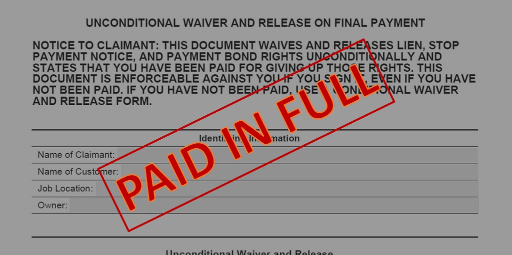 Lien Waivers: What Homeowners Need to Know