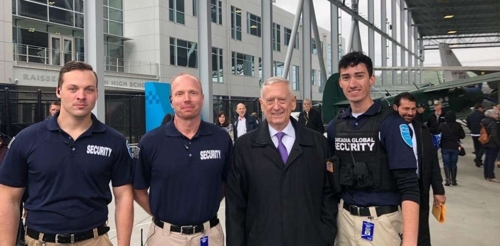 Cascadia Global Security with General Mattis