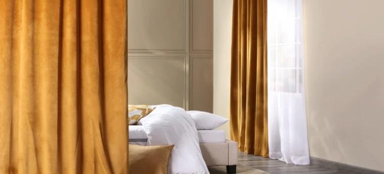 Half Price Drapes Gold Velvet Custom Curtains