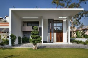 Hyderabad India Multi-Generational Home Front View
