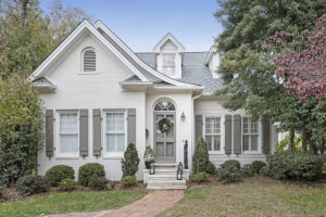Love It or List It Family Home White with Gray Shutters