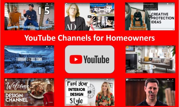 YouTube Channels for Imaginative Homeowners