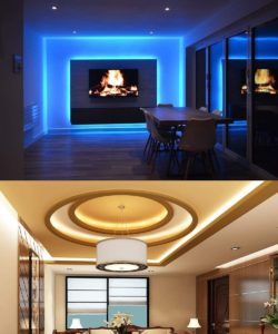 MINGER Led Strip Lights for Home with Remote Control, RGB