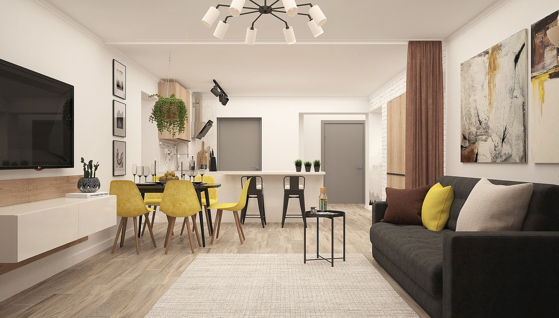 How to Create Dynamic Interior Spaces with Transformable Interior Design