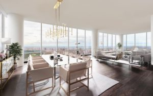 Hasten Tantify Virtual Staging NYC Apartment with View