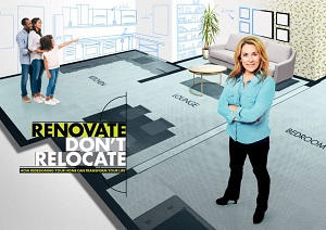 Renovate Don't Relocate TV Series with Sarah Beeny